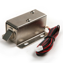 цена на 12V Electronic Latch Lock Catch Door Gate Electric Release Assembly Solenoid Big Electric Lock