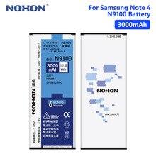 NOHON 3000mAh EB-BN916BBC Cellphone Battery Replacement For Samsung Galaxy Note 4 Note4 N9100/N9106V/N9106W/N9108V/N9109W/N9109V