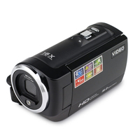Portable HD CMOS 16 Million Pixels 2.7 inches Rotating LCD Screen DV Camcorder Face Detection DVR Photography Video Camera