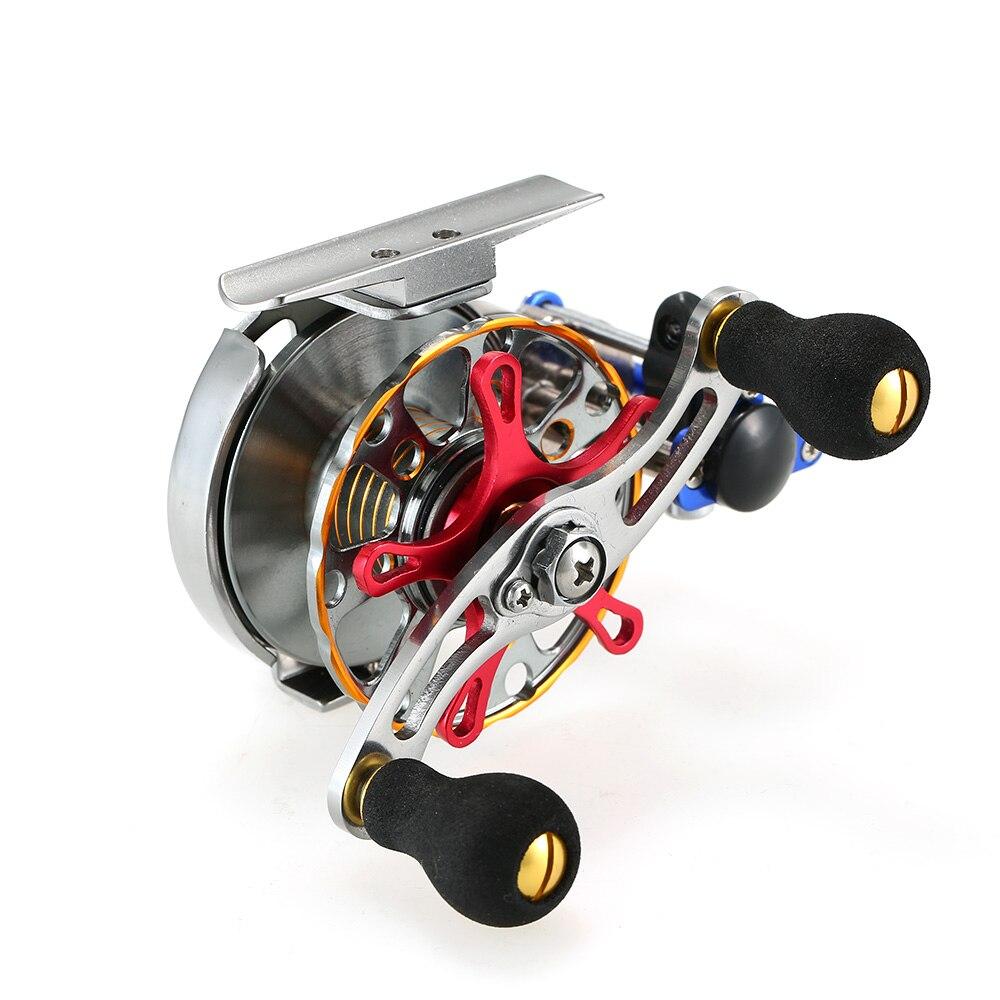 Mini moulinet de mouche ultra-léger moulinet de pêche à la mouche pour droitier CNC en aluminium usiné