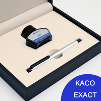 KACO EXACT Luxury Aluminum Alloy Fountain Pen With 30ml Ink 0 5mm F Nib Metal Ink