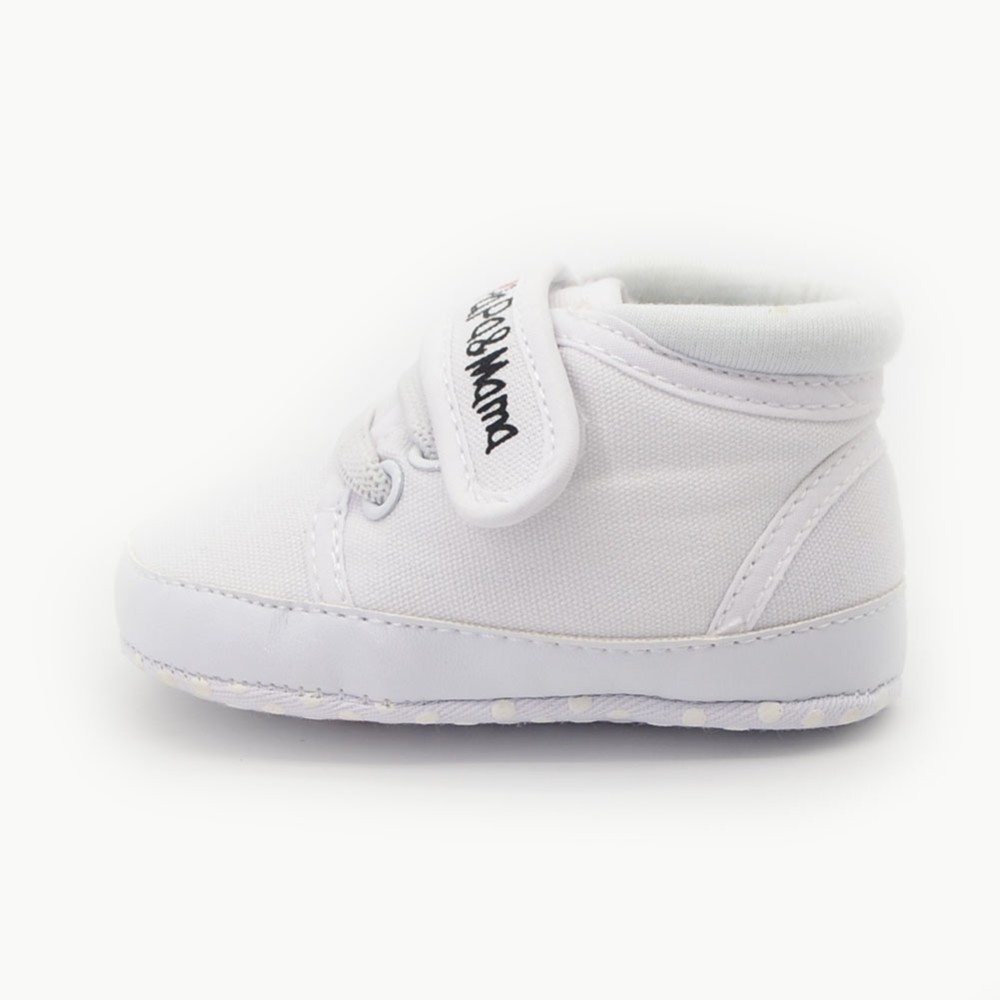 I Love Mother & Dad Design Babies Shoes Unisex Kids Classic Sports Sneakers For Newborn Age 0-15 Months First Walkers Wholesale