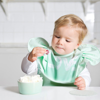 Baby Bib Black White Dot Brand Kids Baby Bibs Apron Triangel Baby Bib With Sleeves Towel