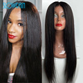 Long Full Lace Human Hair Wigs Brazilian Virgin Hair Glueless Full Lace Wigs For Black Women Straight Lace Front Human Hair Wigs