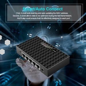 Image 3 - 5 Port Desktop Gigabit Switch RJ45 Network Switch 1000Mbps LAN HUB Ethernet Switch Full Half duplex Drop Shipping