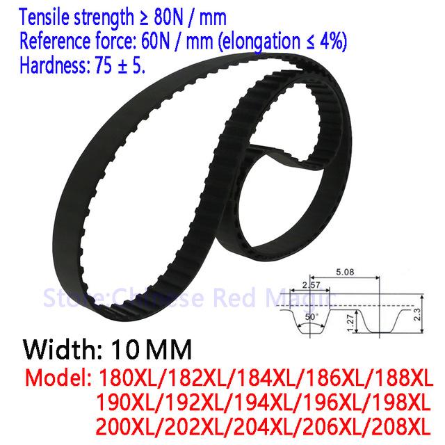 600-5M HTD Timing Belt 120 Teeth Cogged Rubber Geared Closed Loop 15mm Wide