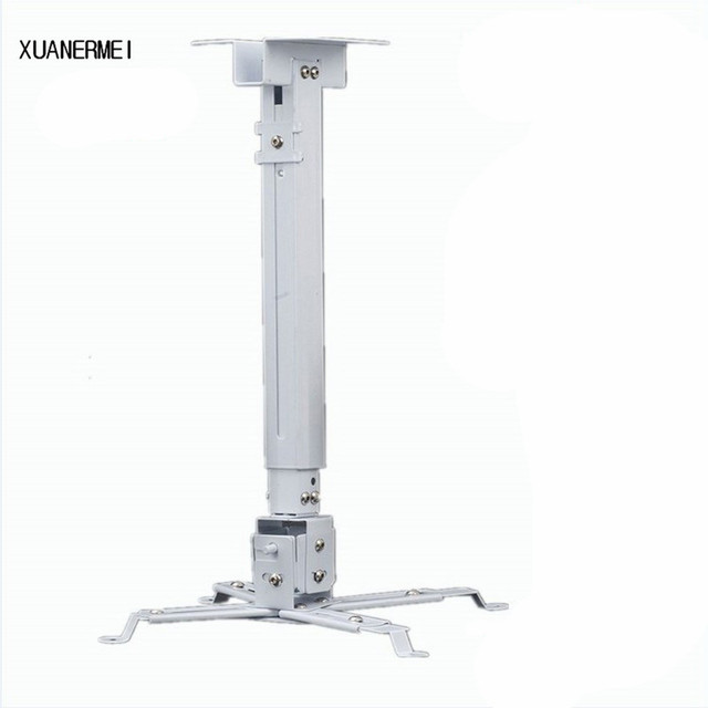xuanermei adjustable projector ceiling mount loading 5kg roof rh aliexpress com siig universal height adjustable projector ceiling mount ceiling projector mount with adjustable extension