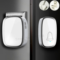 New Arrival EU US Plug Wireless Door Bell Waterproof Smart 36 Melody Home Smart Alarm Door