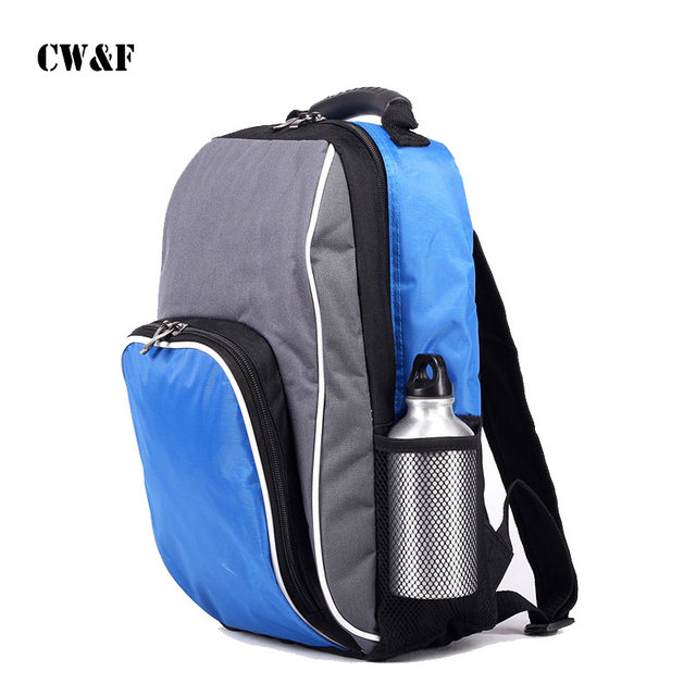 2018 New Style Thermal Bag Freezer Cooler Thickening Double Shoulder Ping Lunch Backpack Refrigerator
