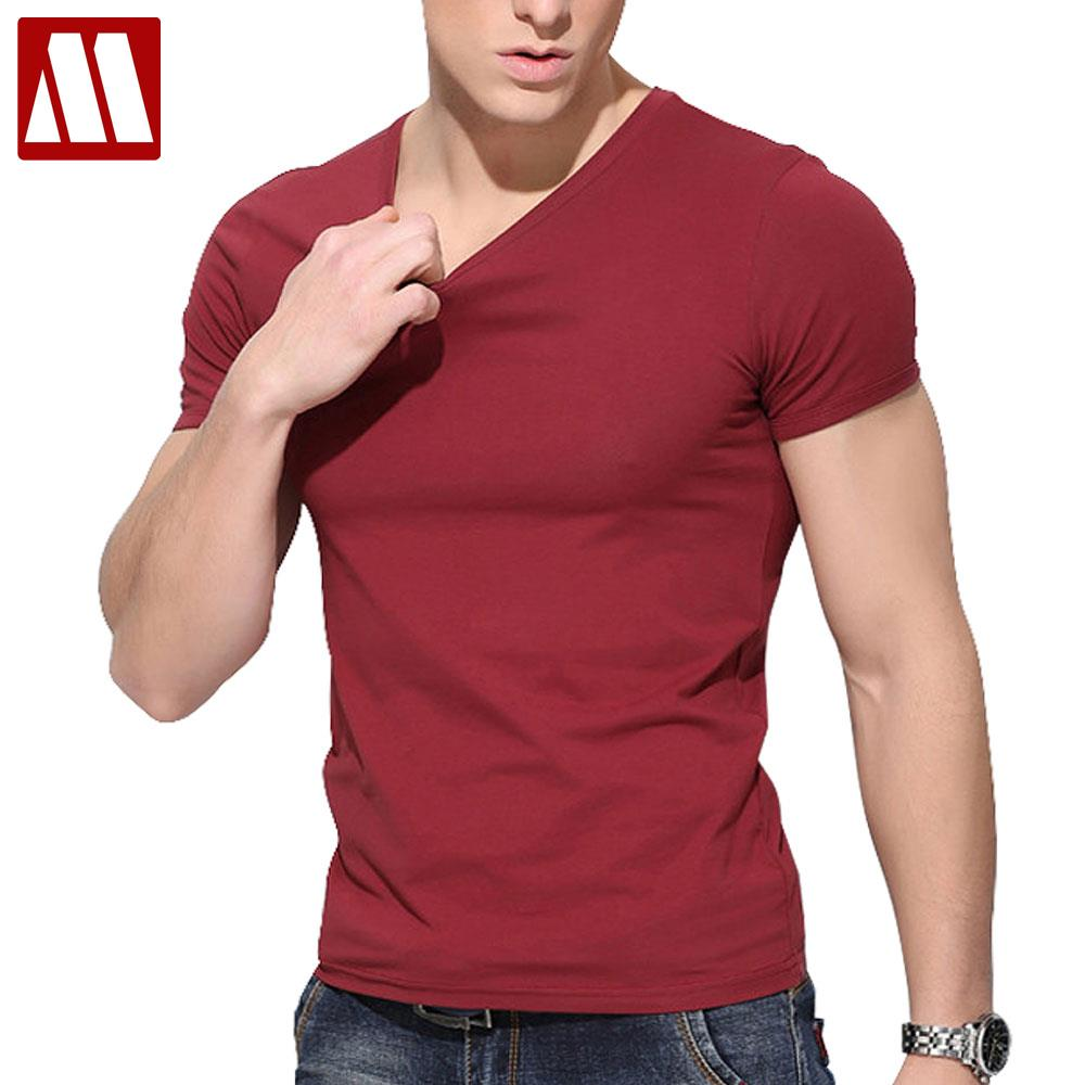 À Manches courtes t-shirt long agrafées coton t shirt hommes 2018 Marque conception d'été mens fitness t chemises marque de mode t shirt 5XL