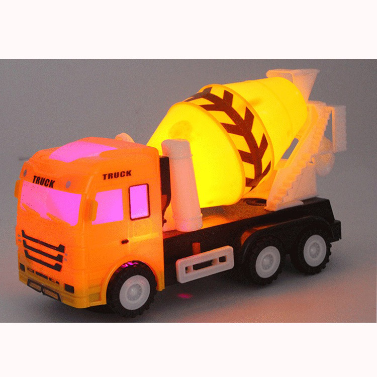 Children Toys Concrete Mixer Truck Model With Light Sound Vehicles Toy Cement Mixed Engineering Car Kids Boys Gift -17 S ...