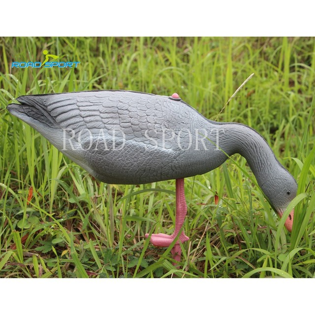 10Pcs/lot 2015Newly Design Lifelike Lightweight Eating hunting Goose Decoys For Hunting Shooting Made By XPE foam