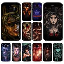 The sexy and beautiful witch medusa soft phone cover case for Samsung Galaxy S6 S7 S8 S9 S10e Plus Note 8 9 CASES(China)