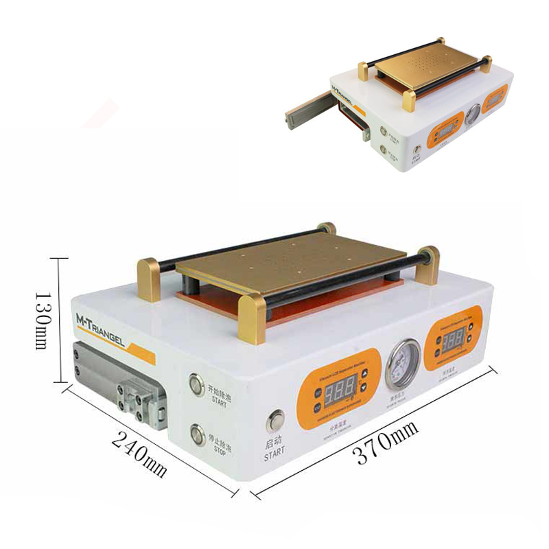 Высокое качество MT ЖК-дисплей клей ОСА поляризатор Remover вакуум сепаратор пузыря удаление машина