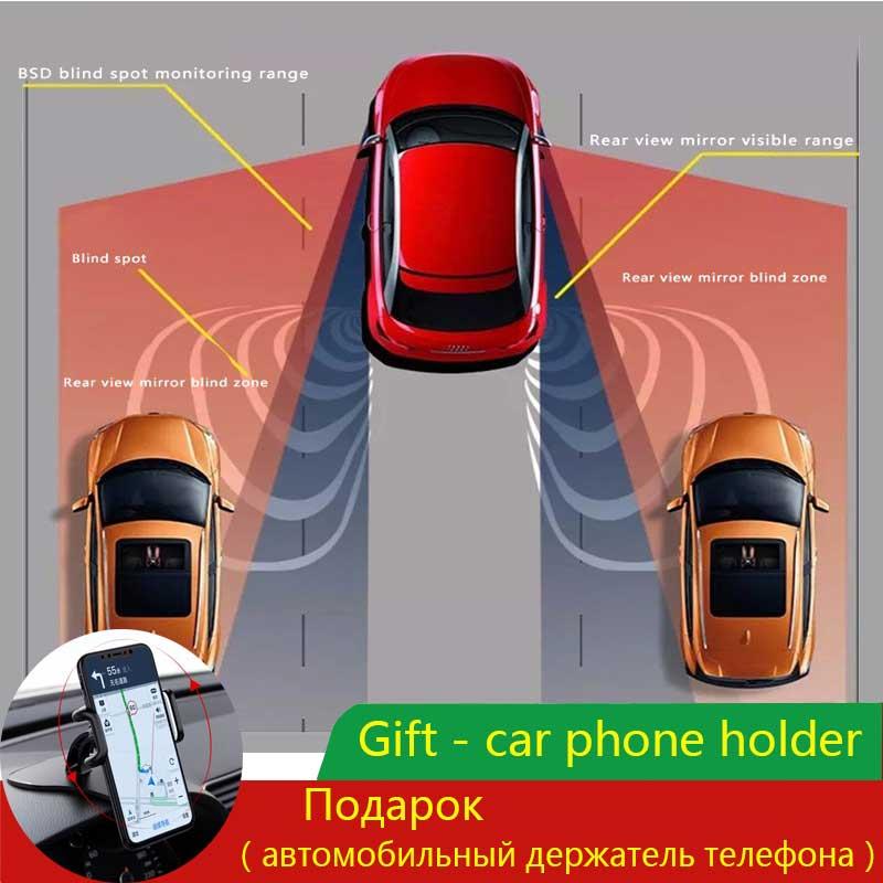 Free Postage Car Blind Spot Monitoring BSD BSA BSM Radar Detection System Microwave Sensor Assistant Car Driving Security+Gift