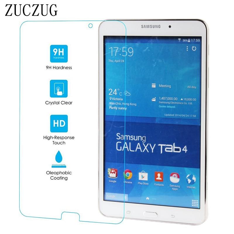 Samsung Galaxy Tab 4 8.0 düymlük Tempered Glass üçün Samsung Tab 4 2017 Ekran Qoruyucu T330 T335 T337 Tempered Cam