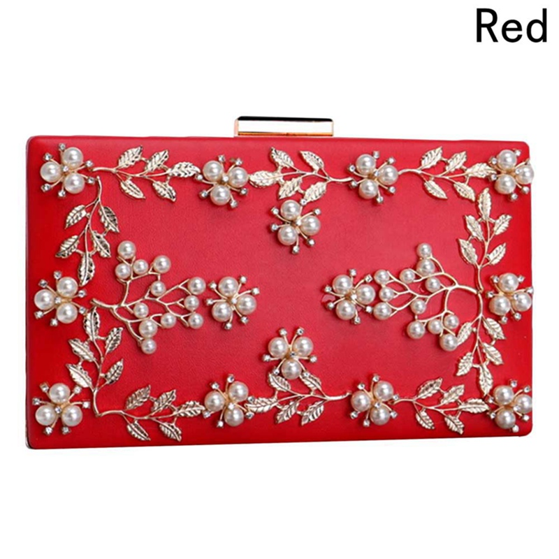 Fashion Ladies Clutches Wedding Clutch Purses Women Flower Bag Female Beaded New Party Bags цена