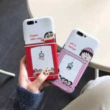 Cute Cartoon Crayon Shin Chan Phone Maruko Case For iPhone 8 7 6S 6 Plus Silicon Soft TPU Cover Case For iPhone X XS MAX XR Case цена и фото