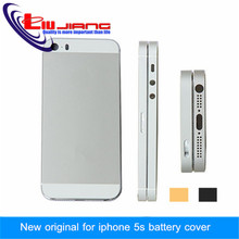 High Quality Space Gray White Gold Metal Housing Battery Door Back Cover Middle frame Side button For iPhone 5S & IMEI