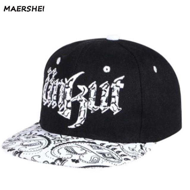 b8b9b3fdfa8 MAERSHEI Snapback Hat Women Baseball Cap Bone Bad Boy Snakeskin Stria  Wholesale Flat Brimmed Hats Women Men s Hip-Hop Cap Swag G