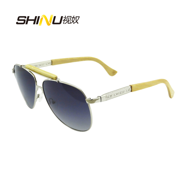 1c434494d Hot Sale Metal Frame Sunglasses Quality Polarized Sunglasses Non-slip  Sunglasses For Special Copper & Bamboo Mixed Legs 1565