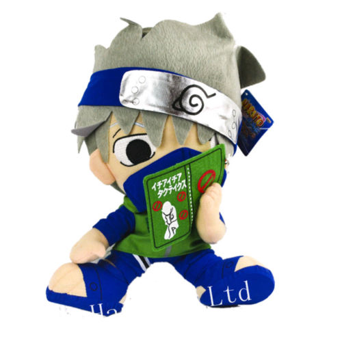 Naruto Shippuden Kakashi Hatake Stuffed Soft Plush Toy Doll Collectioin 12/'/'