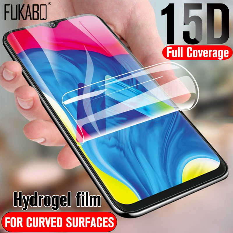 15D Hydrogel Protective Film For Huawei P20 Lite P30 Pro P smart 2019 Screen Protector For Huawei Honor 10 9 Lite 8x Not Glass