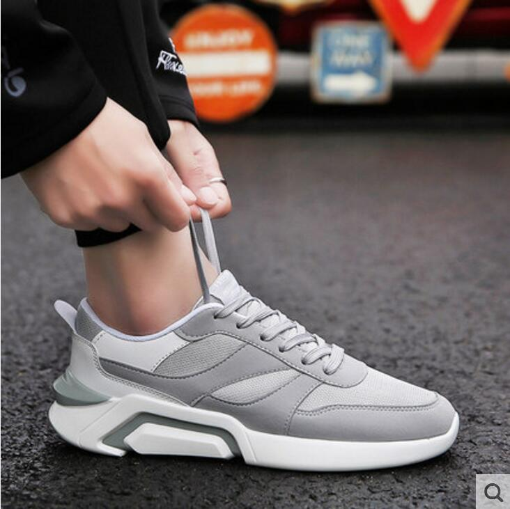 2018 spring summer mens Mesh shoes casual trend wild outdoor flat Breathable Male Shoes men tourism Walking shoes zapatos hombre