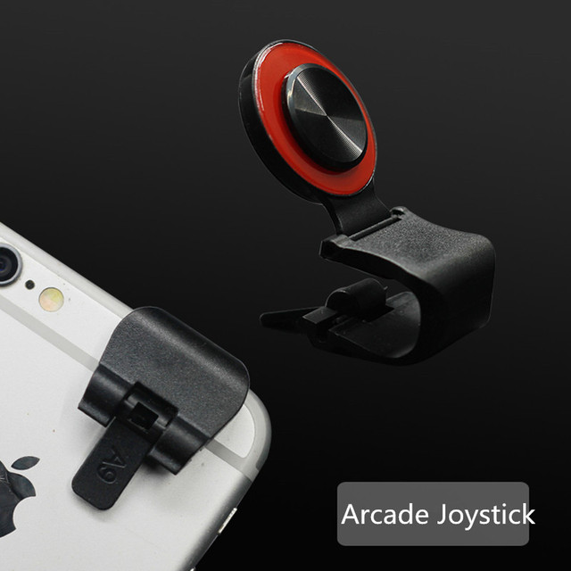 Newest Arcade Joystick Mini Touch Screen Smartphone Joystick Universal Clip-on Clamp Joystick for Mobile Phone/Ipad/Tablet