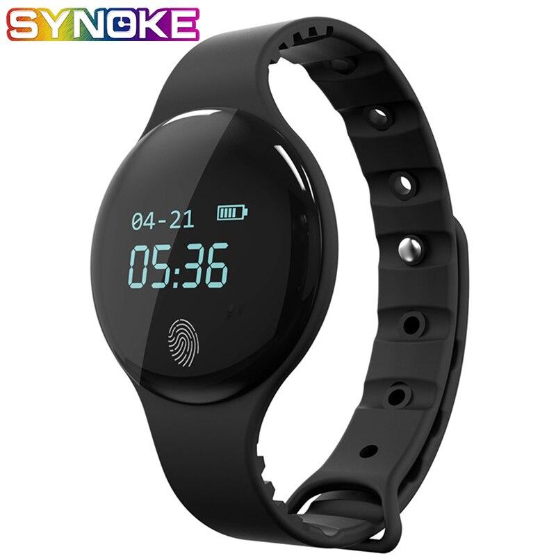 Synoke Monitor Sport-Watch Inteligente Heart-Rate Digital Android-Ios Smart Waterproof