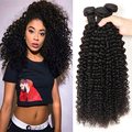 Mink Brazilian Virgin Hair Kinky Curly Weave Human Hair Extensions 3 Bundles 8a Virgin Brazilian Curly Hair Bundles Crochet Hair