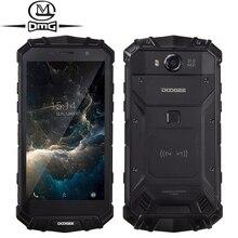 """Doogee S60 IP68 Étanche 4G Mobile Téléphone 5580 mAh Sans Fil n de Charge du Flash 5.2 """"1080 P 6 GB + 64 GB 21MP Glonass NFC D'empreintes Digitales"""
