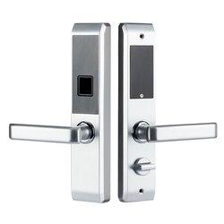 LACHCO 2019 Biometrische Fingerprint Elektronische Smart Türschloss, Code, Karte, touchscreen Digital Passwort Lock-Taste für home lk18A3F