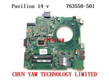 original 763550-501 FOR HP Pavilion 14-v series motherboard DAY23AMB6C0 REV:C A10-5745M mainboard 90Days Warranty 100% tested