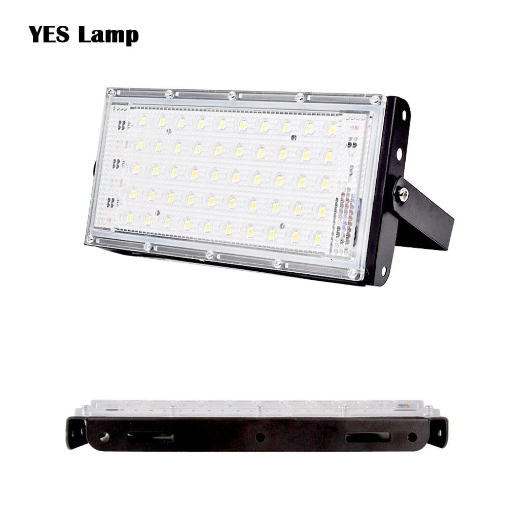 IP65 RGB LED Floodlight 10W 50W LED Flood Light Lighting Outdoor Street Lamp Wall Reflector Waterproof Spotlight AC 220V 240V