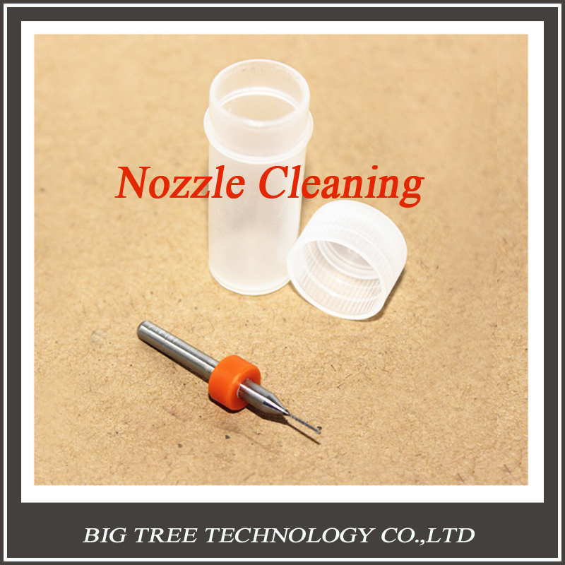 1picece Nozzle Cleaning Drill Bits with Case for 3D Printer Nozzle Cleaning Makerbot Mendel Reprap