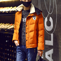 2017 new arrival men's thickening cotton jacket coat winter male winter coat men's clothing down coat male thickening outerwear