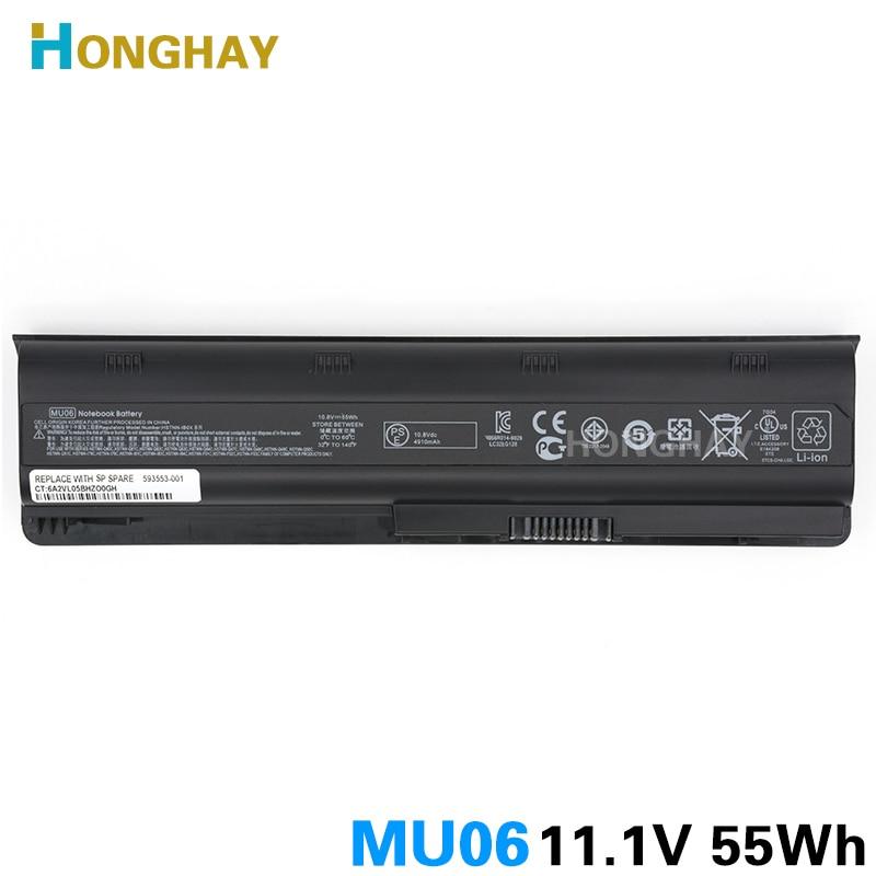 HONGHAY 55WH MU06 bärbar datorbatteri för HP Pavilion G4 G6 G7 G32 - Laptop-tillbehör - Foto 2