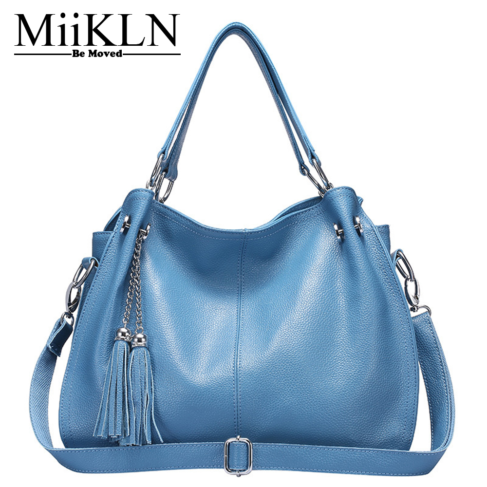 MiiKLN Women Leather Handbags Soft Split Cow Leather Womans Bag For Lady Ladies Shoulder Crossbody Handbag Bags Female Tote makita 6408
