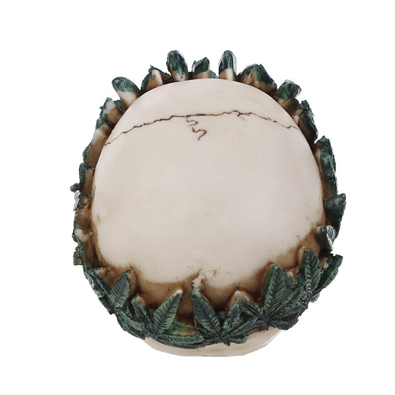 3d folha cabeça do crânio sabão bolo