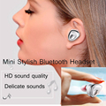 Original XIBICEN Mini Wireless Bluetooth 4.1 Headset Earphone Head phones Support One Match Two with 10m BT Distance