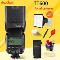 Godox TT600S TT600 Flash Speedlite voor Canon Nikon Sony Pentax Olympus Fujifilm & Ingebouwde 2.4G Draadloze Trigger Systeem GN60