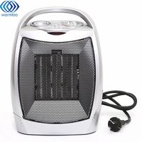 Warm Air Fan Electric Heater 220V 2000W Electric Fan Adjustable Temperature Home Office Heating Semiconductive Ceramics