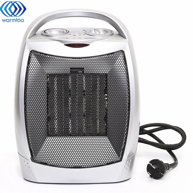Warm Air Fan Electric Heater 220V 2000W Electric Fan Adjustable Temperature Home Office Heating Semiconductive Ceramics warm air blower heating elements fan heater electric heat pipe warming air machine tubular element unit heater parts
