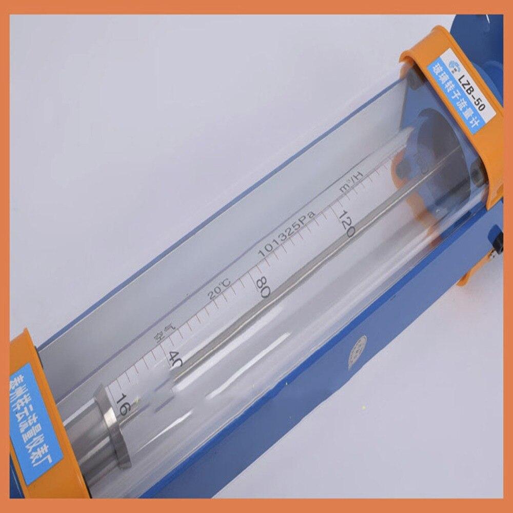 DN50 LZB 50 стекло ротаметр расходомер для газа. Фланцевое соединение, LZB50 инструменты расходомеры анализ инструменты измерения потока