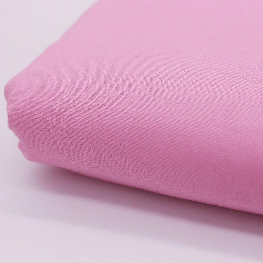 Luz de color rosa de algodón tela para los vestidos de tela de Coser telas de Po