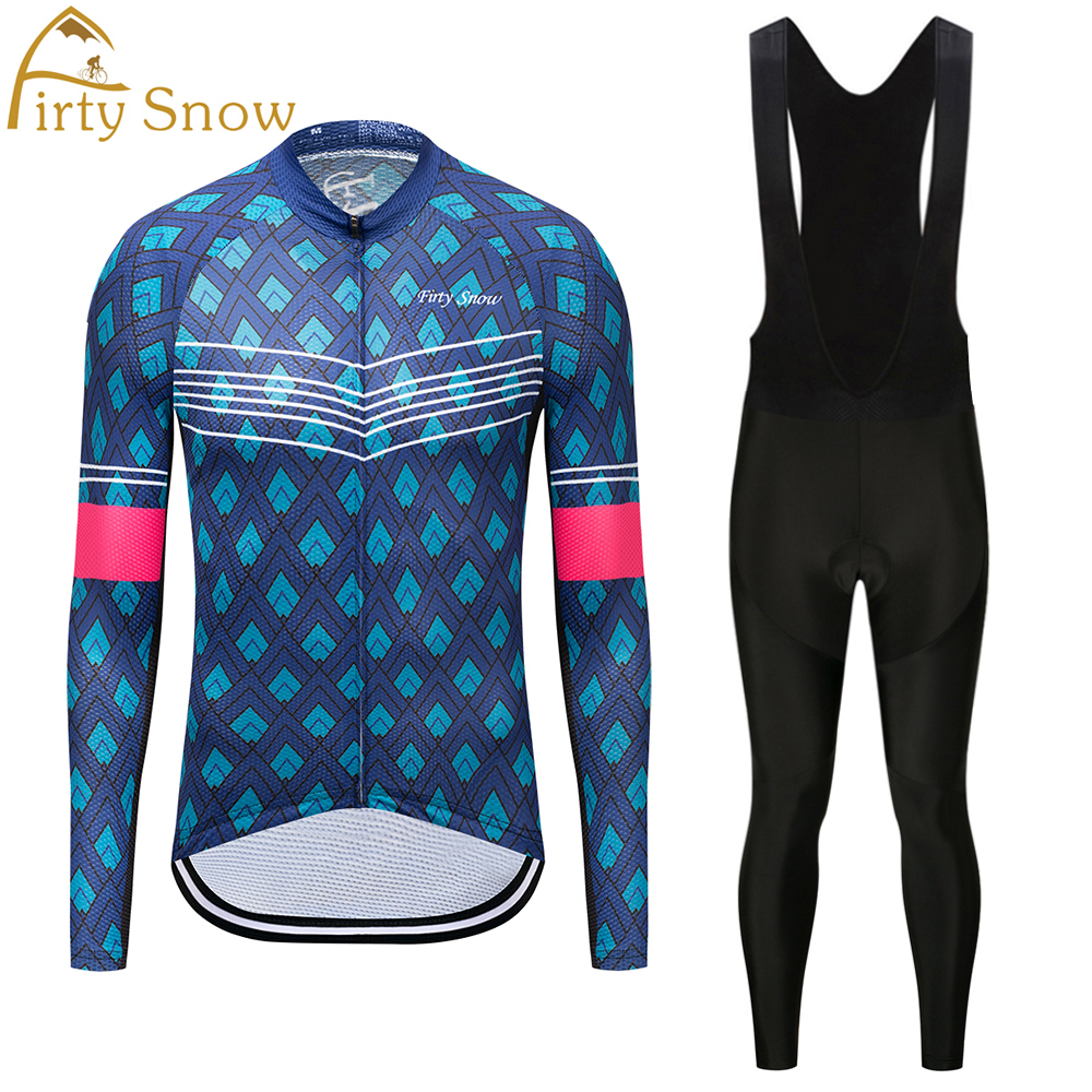 Firty Snow men Bike Long jersey Pants green Life Pro Team Cycling clothing Riding Top MTB Wear Long Sleeve Shirts