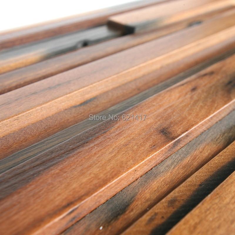 Navire naturel bois 3d ancien vieux bateau en bois mosaïque carreaux mur décoration matériaux HMWM1019 pour dosseret cuisine mur - 1
