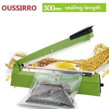 Heat Sealing Machine Impulse bag Sealer Seal Machine Poli Tubing Plastic Bag Kit kitchen