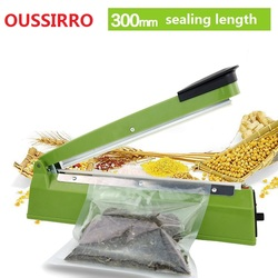 220V 300mm IMPULSE SEALER Heat Teflon Sealing Machine Impulse bag Sealer Seal Sackholder Poly Tubing Plastic Bag Kit kitchen